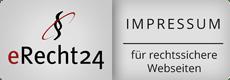 erecht24 Impressum Banner